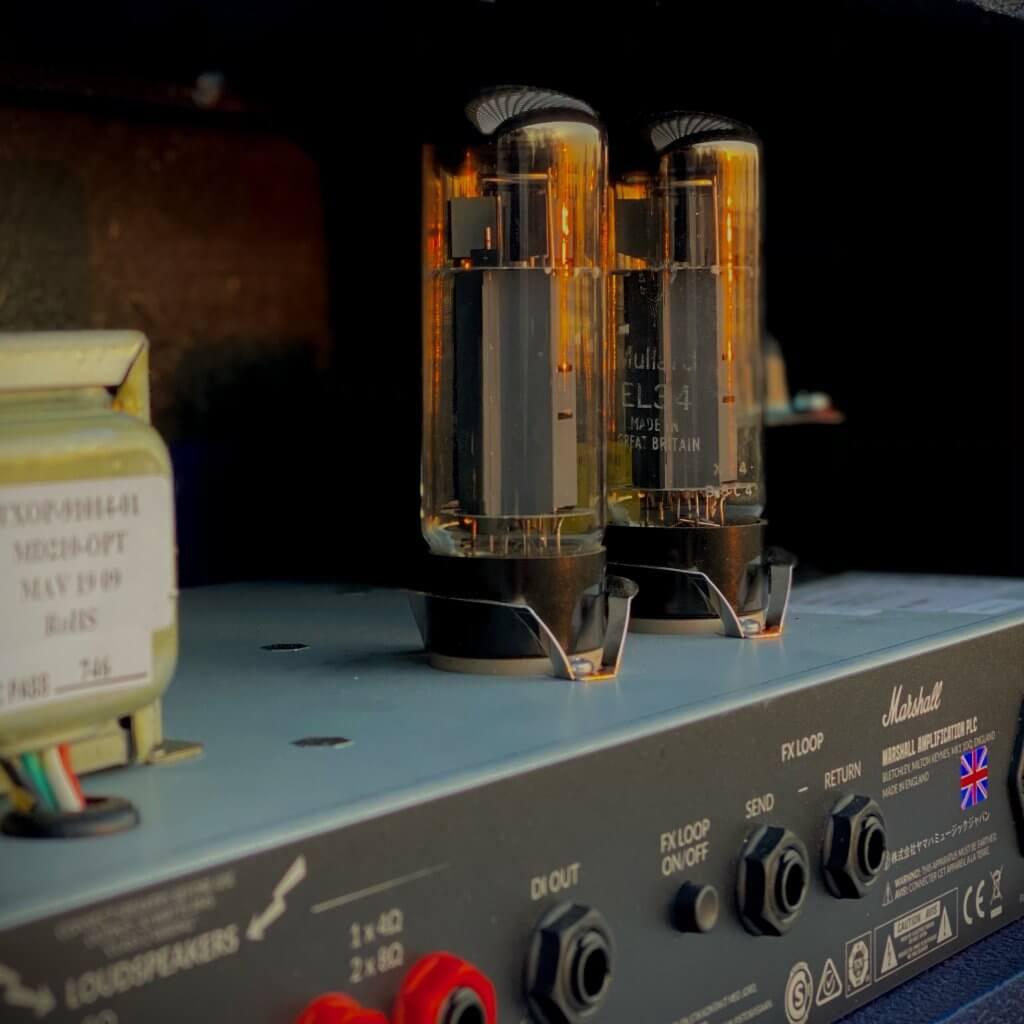 Mullard EL34 In Marshall Amp