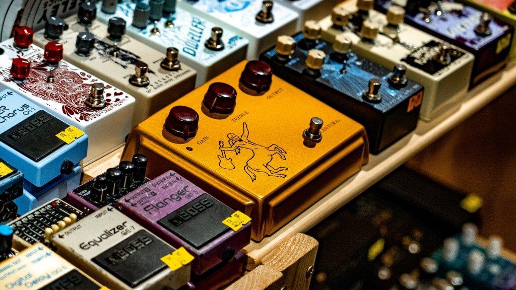 Guitar Pedals   Fuzz Audio