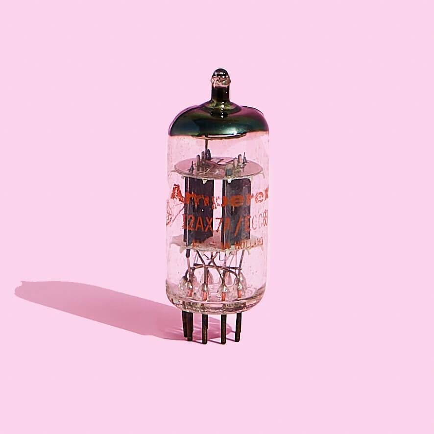 Amperex 12AX7 Vintage Vacuum Tube | Fuzz Audio