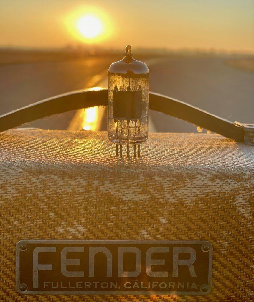 Vintage Tweed Fender Amp w/ RCA 12AX7 | Fuzz Audio
